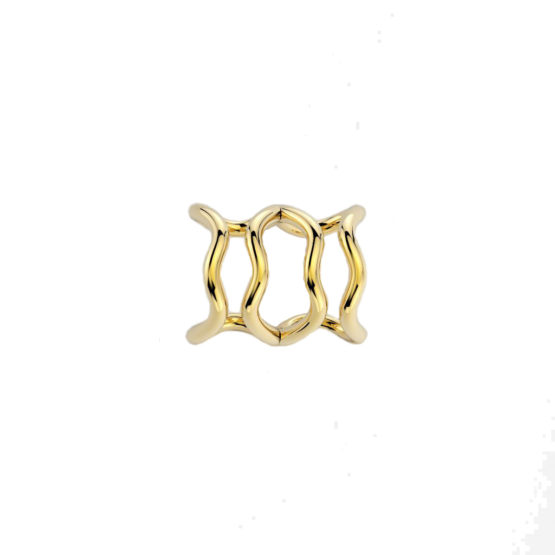 EAR CUFF PEG5 2 GOLD ELOGIARTE