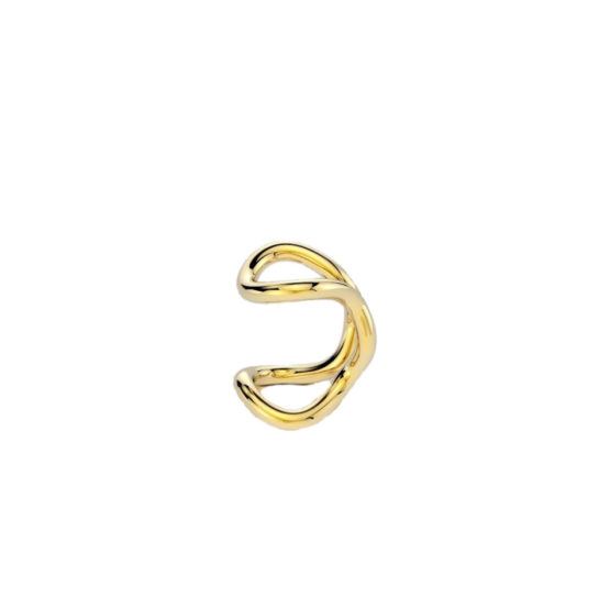 EAR CUFF PEG6 2 GOLD ELOGIARTE