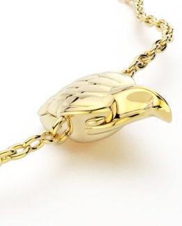 Colgante 5 Salvaje Eagle Gold